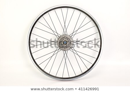 Front wheel of a bicycle  Stock photo © pashabo