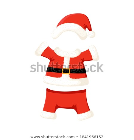 Red trousers of Santa. Traditional Christmas clothes Stock photo © orensila