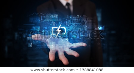 man in charge in storage Stock photo © IS2