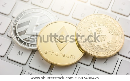 ethereum crypto currency Stock photo © OleksandrO