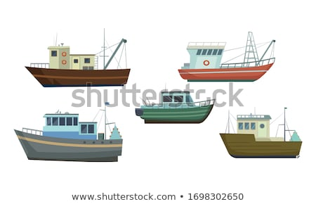 Fishing boat Stock photo © Lizard