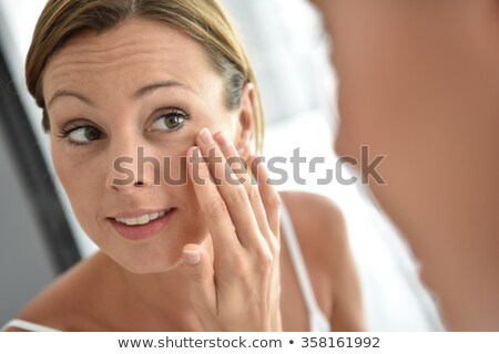 женщину щека женщины Сток-фото © IS2
