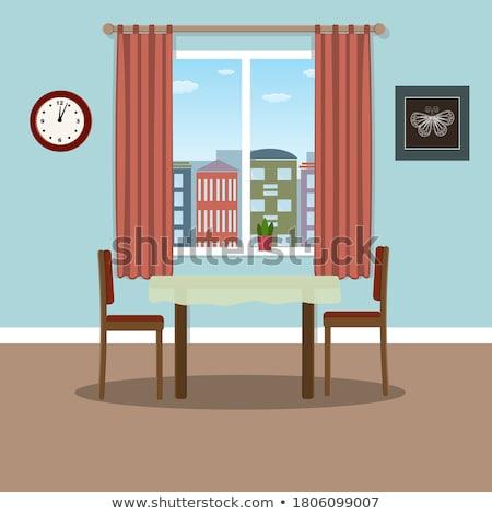 materieel · gebruikt · schilderij · illustratie · witte · papier - stockfoto © robuart