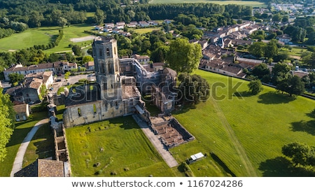 Abbey de la Sauve-Majeure, Route to Santiago de Compostela, Gironde, UNESCO Stock photo © FreeProd