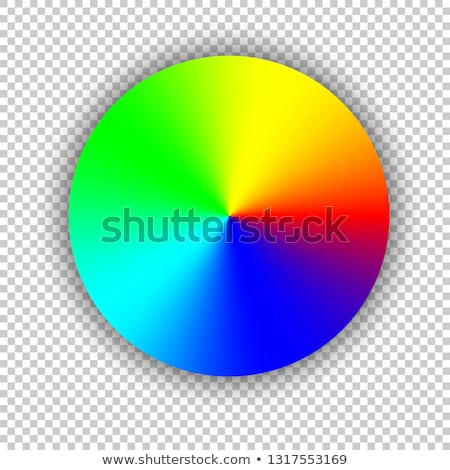 Set of Conic gradients on a transparent background. Vector illustration Stock photo © olehsvetiukha