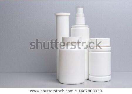 Medycznych przechowywania polu farmaceutyczny kapsułki realistyczny Zdjęcia stock © robuart