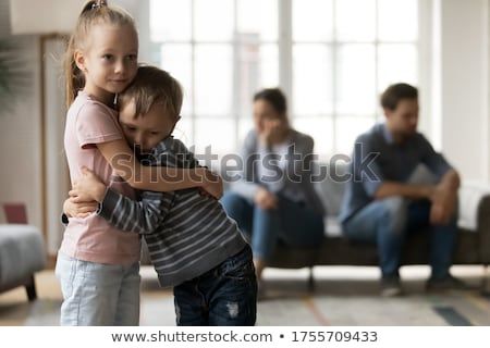 Stock photo: Psychological Distress Of Children