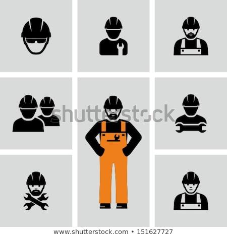 loodgieter · vrouw · bouwer - stockfoto © krisdog