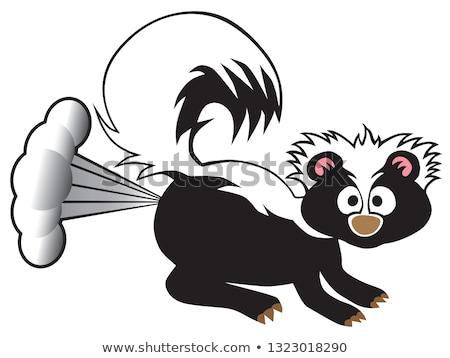 驚いた 漫画 スカンク 実例 見える ストックフォト © cthoman