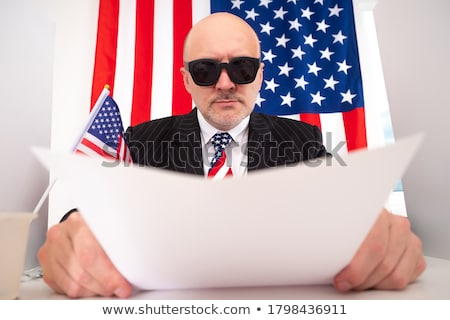 USA segreto politica profondità governo affrontare Foto d'archivio © Lightsource