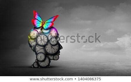 stress · kalender · druk · betekenis - stockfoto © lightsource