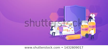 Vaccination program concept banner header. Stock photo © RAStudio