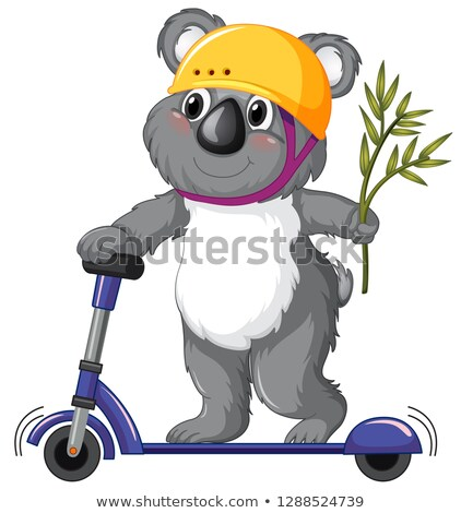 coala · ilustração · família · natureza · papel · de · parede - foto stock © colematt