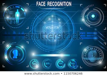 認識 顔 イド スマートフォン 人間 頭 ストックフォト © ikopylov