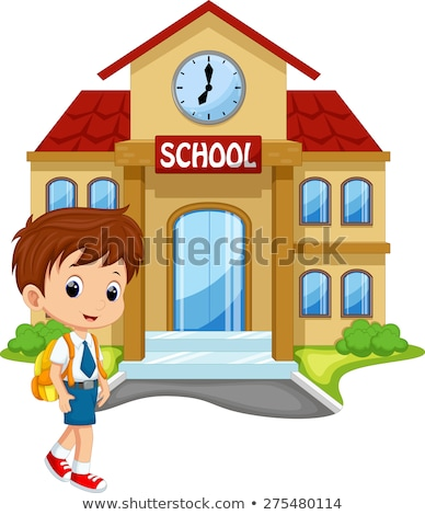 Nursery school boy_complex Stock photo © toyotoyo