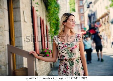 Moda jovem bastante menina Foto stock © Lopolo