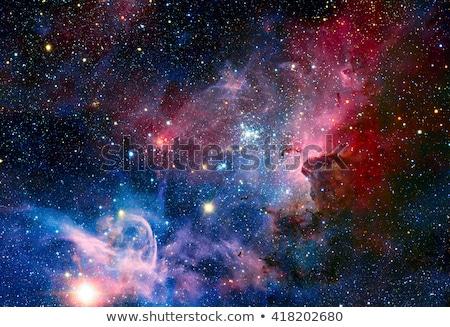 Image of the Carina Nebula in infrared light. Stock photo © NASA_images