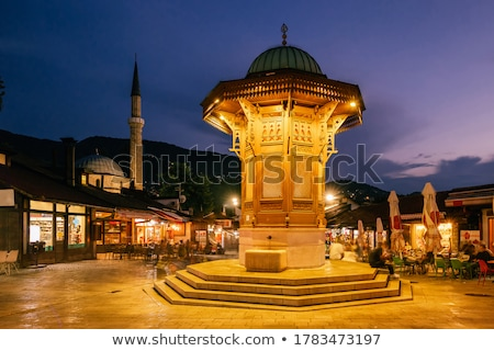 Historic ottoman fountain. Stock photo © grafvision