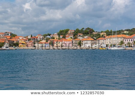 Village of Sali on Dugi Otok island colorful harbor view stock photo © xbrchx