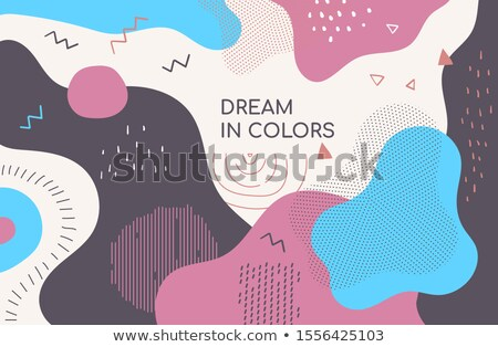 Best wensen moderne ontwerp stijl abstract Stockfoto © Decorwithme