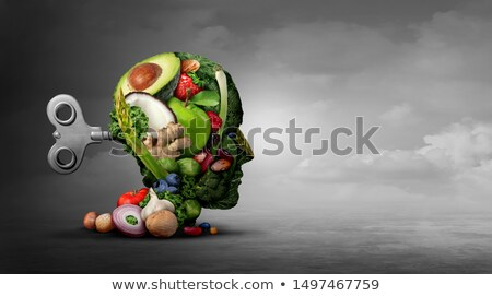 Vegan Diet And Mental Function Stock photo © Lightsource