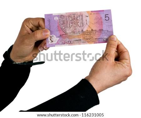 Printing Australian Dollar Notes Stock photo © albund