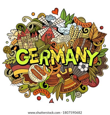 ドイツ 手描き 漫画 実例 面白い ストックフォト © balabolka