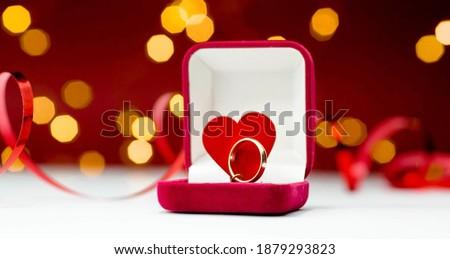 芸術 · ギフトボックス · 赤いバラ · 花 · バラ · 中心 - ストックフォト © witthaya