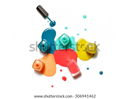 Nail polish Stock photo © zzve