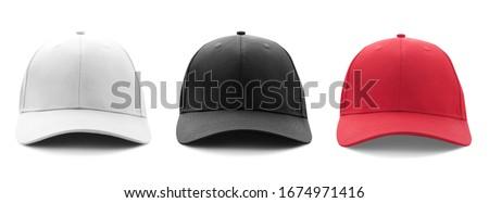 Set hat cap Stock photo © orensila