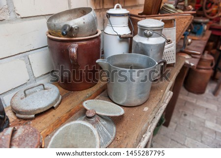 Old tin pot Stock photo © ondrej83
