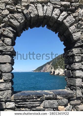 Stone arch Stock photo © Kurhan