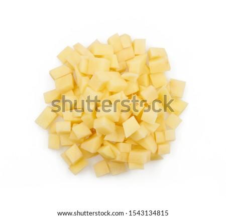 Krumpli köteg nyers zöldség hozzávaló stúdiófelvétel Stock fotó © Digifoodstock