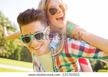Young person leisurely in a park Stock photo © IS2