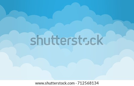 Beautiful clouds background Stock photo © Anna_Om