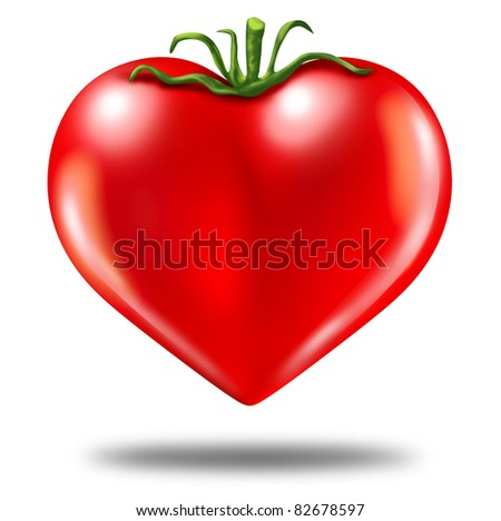 tomatoes are good for the heart Stock photo © adrenalina