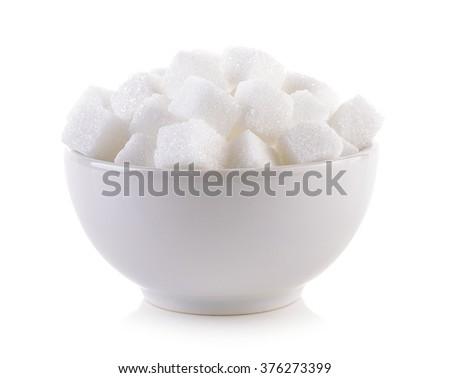 white sugar in cubes texture background Stock photo © ozaiachin