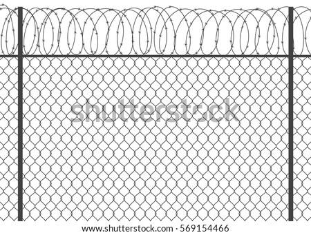 Drutu kolczastego ogrodzenia starych wygaśnięcia Zdjęcia stock © Forgiss