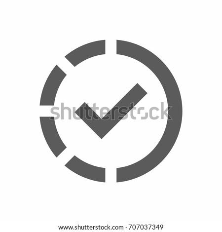 Negocios progreso icono gris botón diseno Foto stock © WaD