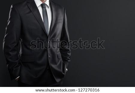 közelkép · üzletember · üres · kéz · üzletemberek · csőd - stock fotó © dolgachov