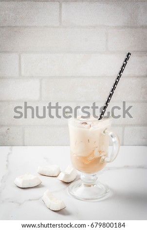 coconut latte smoothie stock photo © grafvision
