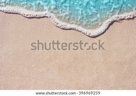 Sand with waves Stock photo © Givaga