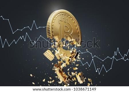Bitcoin metaal tabel business financieren Stockfoto © pedrosala