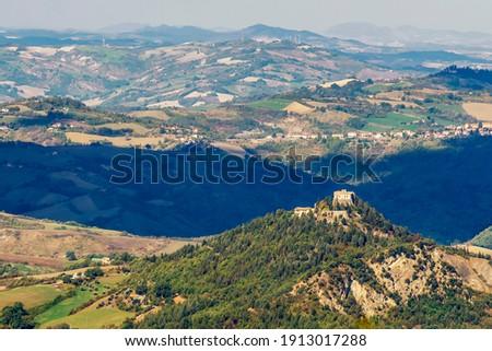 Zamek pozycja ważny właściciele rodziny twierdza Zdjęcia stock © aladin66