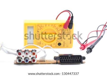tester rca scart Stock photo © jarp17