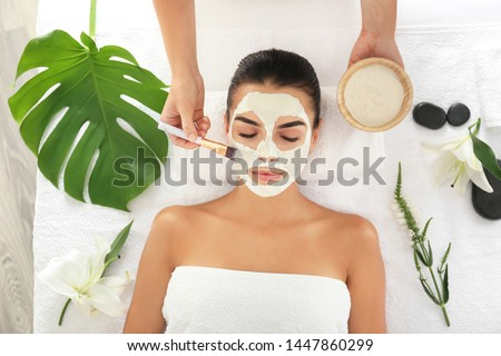 tropical spa treatment stock photo © marilyna