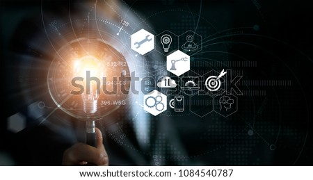 Customize - Magnifying Glass. Stock photo © tashatuvango