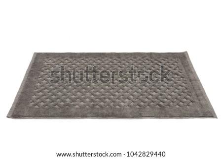 Gomma tappeto isolato bagno doccia plastica Foto d'archivio © karammiri
