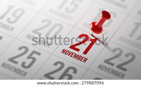 21st november stock photo © oakozhan