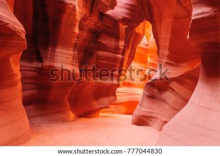 Canyon voorbehoud pagina Arizona USA muur Stockfoto © vichie81